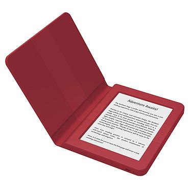 "Bookeen Saga (rouge) Liseuse eBook Wi-Fi - Écran tactile 6"" 1024 x 758 - 8 Go"