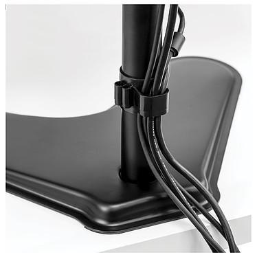 Fellowes Bras, soporte para dos pantallas vertical con pata Professional Series a bajo precio