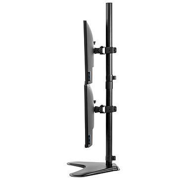 Opiniones sobre Fellowes Bras, soporte para dos pantallas vertical con pata Professional Series