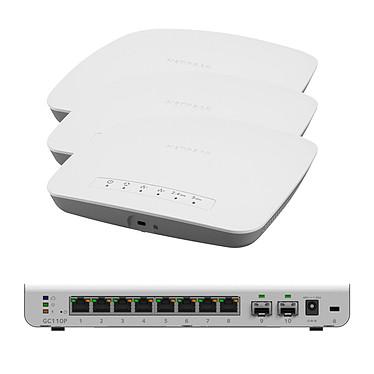 Netgear GC110P + WAC505 x 3