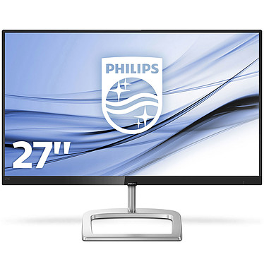 "Philips 27"" LED - 276E9QJAB 1920 x 1080 pixels - 5 ms (gris à gris) - Format large 16/9 - Dalle IPS - FreeSync - DisplayPort - HDMI - Noir"