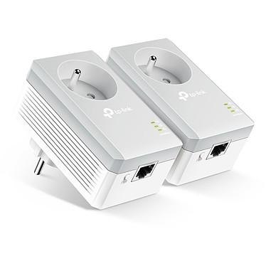 TP-LINK TL-PA4015PKIT Pack de 2 adaptateurs CPL HomePlug AV 600 Mbps + prise électrique