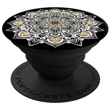 PopSockets Golden Lace Negro Soporte de ventosa para smartphone y tableta