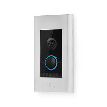 Ring Video Doorbell Elite Sonnette vidéo HD PoE avec microphone et haut-parleurs intégrés avec Wi-Fi et Ethernet