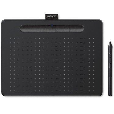 Wacom Intuos S con Bluetooth Negra Tableta gráfica con lápiz táctil (PC/MAC)