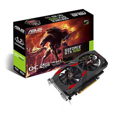ASUS GeForce GTX 1050 CERBERUS-GTX1050-O2G 2048 Mo DVI/HDMI/DisplayPort - PCI Express (NVIDIA GeForce avec CUDA GTX 1050)