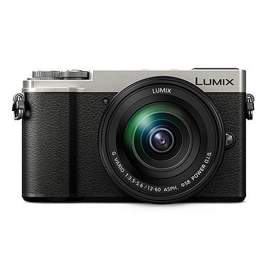 Panasonic DC-GX9M Argent Appareil photo 20,3 MP sans filtre passe-bas - Double stabilisation 5 axes - Photo et vidéo 4K - Zoom numérique 4x -  Écran tactile et viseur inclinables - Bluetooth/Wi-Fi + Objectif LUMIX G VARIO 12-60 mm, f/3.5-5.6