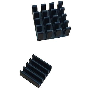 Kit de refroidissement passif pour Raspberry Pi Set de deux radiateurs passifs compatibles Raspberry Pi
