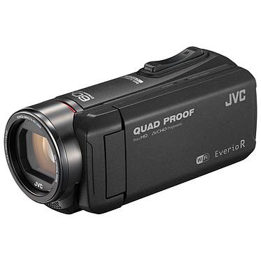"""JVC GZ-RX605 Noir + Carte SDHC 16 Go Caméscope Full HD tout terrain - zoom optique 40x - stabilisateur d'image - écran LCD tactile 3"""" - Wi-Fi - HDMI"""