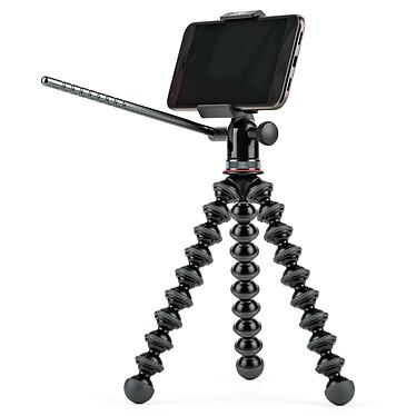 Joby GripTight PRO Video GP Stand Trépied flexible avec rotule rotative et inclinable, bras en aluminium et support portrait/paysage pour smartphone