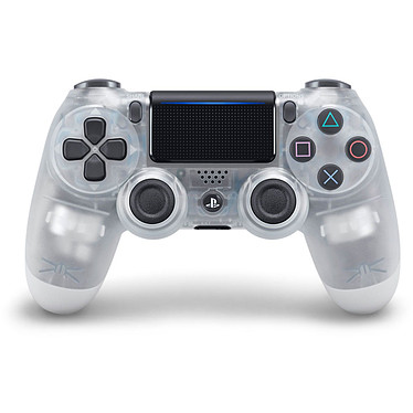 Sony DualShock 4 v2 (Crystal) Manette officielle sans fil pour PlayStation 4