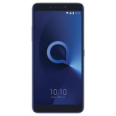 """Alcatel 3v Bleu Smartphone 4G-LTE Dual SIM - MediaTek MT8735A Quad-Core 1.4 GHz - RAM 2 Go - Ecran tactile 6"""" 1080 x 2160 - 16 Go - Bluetooth 4.2 - 3000 mAh - Android 8.0"""