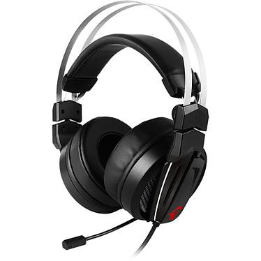 MSI Immerse GH60 Casque gaming Hi-Res - Son stéréo - circum-aural fermé - télécommande intégrée