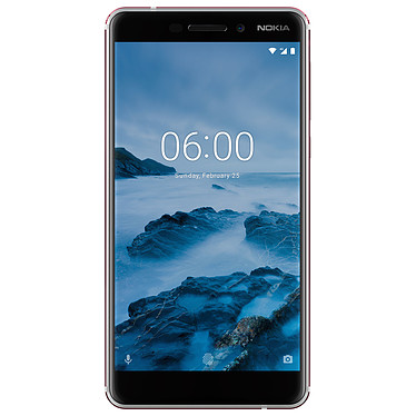 "Nokia 6.1 Blanc Smartphone 4G-LTE Dual SIM - Snapdragon 630 8-core 2.2 GHz - RAM 3 Go - Ecran tactile 5.5"" 1080 x 1920 - 32 Go - NFC/Bluetooth 5.0 - 3000 mAh - Android 8.0"