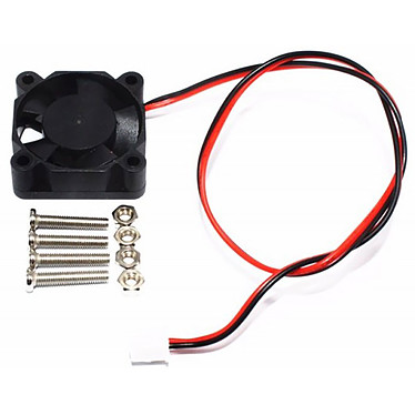 Ventilateur 30 mm pour Raspberry Pi Ventilateur de refroidissement pour Raspberry Pi - taille 30 mm