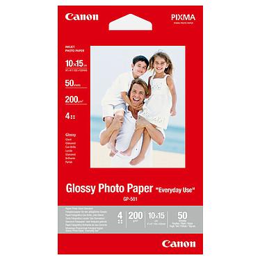 """Canon GP-501 Glossy Photo 10x15 Papier Photo Glacé """"usage quotidien"""" 10 x 15 cm  (50 feuilles)"""