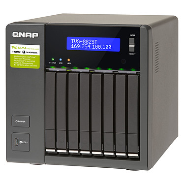 Avis QNAP TVS-882ST3-i7-8G