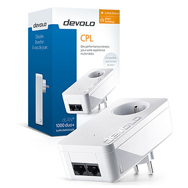 Acheter Devolo dLAN 1000 duo+ CPL x2