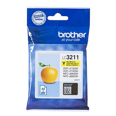 Brother LC3211Y Cartouche d'encre jaune (200 pages à 5%)