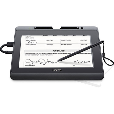 "Wacom Interactive Pen Display DTH-1152 Tablette professionnelle multi-touch - écran LCD 10.1"" Full HD mutli touch à surface durcie"