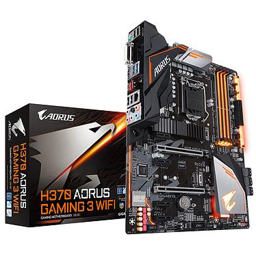 Gigabyte H370 AORUS Gaming 3 Wi-Fi Carte mère ATX Socket 1151 Intel H370 Express - 4x DDR4 - SATA 6Gb/s + M.2 - USB 3.1 - Wi-Fi - 2x PCI-Express 3.0 16x