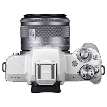 Acheter Canon EOS M50 Blanc + EF-M 15-45 mm IS STM Argent