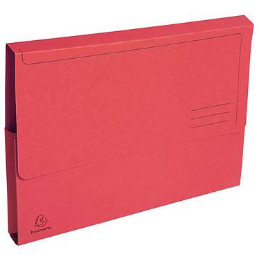 Exacompta Forever Chemises Poche Rouge x 50