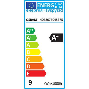 OSRAM Ampoule LED Retrofit RGBW standard Télécommande E27 9W (60W) A+ pas cher