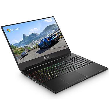 "Gigabyte Aero 15W v8 B544W10P-FR Noir Intel Core i7-8750H 16 Go SSD 512 Go 15.6"" LED Full HD 144 Hz NVIDIA GeForce GTX 1060 6 Go Wi-Fi AC/Bluetooth Webcam Windows 10 Professionnel 64 bits"