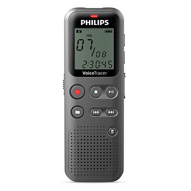 Philips DVT1110 Dictáfono digital de 4 GB con micrófono mono y puerto USB