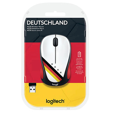 Acheter Logitech M238 Wireless Mouse Fan Collection Allemagne