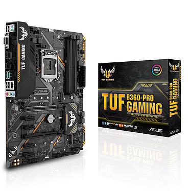 ASUS TUF B360-PRO GAMING Carte mère ATX Socket 1151 Intel B360 Express - 4x DDR4 - SATA 6Gb/s + M.2 - USB 3.1 - 2x PCI-Express 3.0 16x