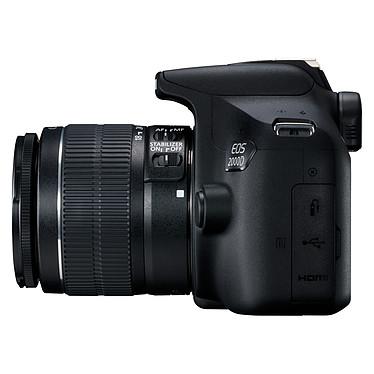Avis Canon EOS 2000D + EF-S 18-55 mm IS II