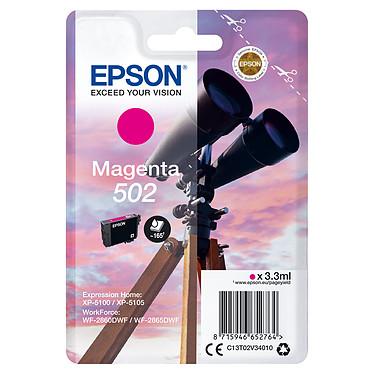 Epson Jumelles 502 Magenta Cartouche d'encre Magenta (3.3 ml / 165 pages)