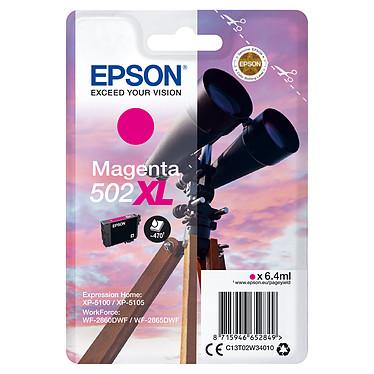 Epson Jumelles 502XL Magenta Cartouche d'encre haute capacité Magenta (6.4 ml / 470 pages)