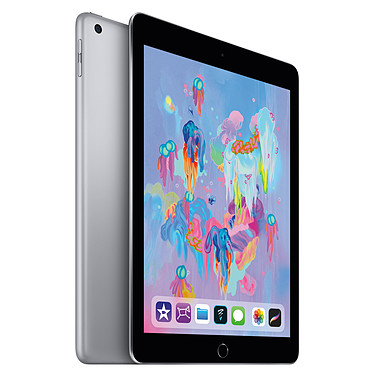 "Apple iPad (2018) Wi-Fi 128 GB Wi-Fi Sideral Gris Internet Tablet - Apple A10 Fusion eMMC 128GB 9.7"" Wi-Fi AC/Bluetooth Webcam iOS 11 touch LED - compatible con Apple Pencil"