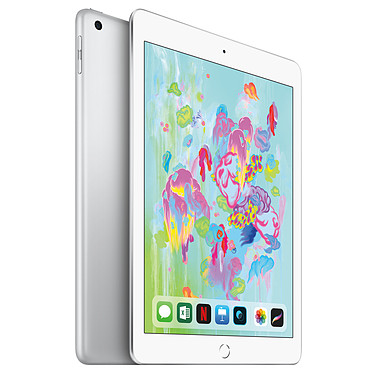 Apple iPad (2018) Wi-Fi 128 GB Wi-Fi + Cellular Argent