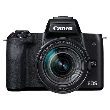 Canon EOS M50 Noir + EF-M 18-150 mm IS STM