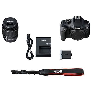 Canon EOS 4000D + EF-S 18-55mm III pas cher