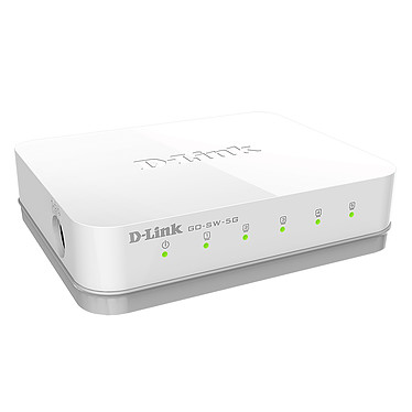 D-Link GO-SW-5G Switch Gigabit 5 ports 10/100/1000 Mbps