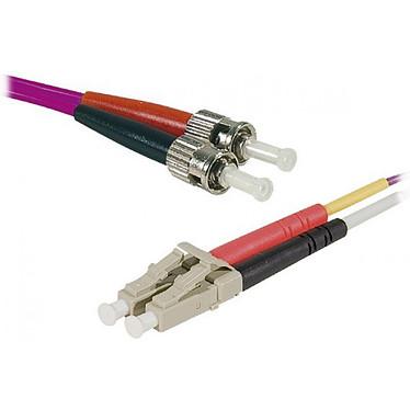 OM4 LC-UPC/ST-UPC Liga óptica dúplex multimodo de 2mm (3 metros)