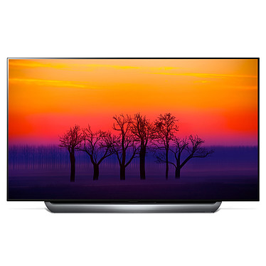 "LG OLED65C8 Téléviseur OLED 4K 65"" (165 cm) 16/9 - 3840 x 2160 pixels - Ultra HD 2160p - HDR - Wi-Fi - Bluetooth - Dolby Atmos (dalle native 100 Hz)"