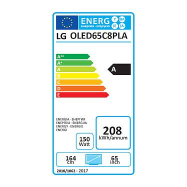 LG OLED65C8 pas cher