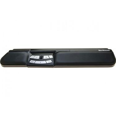 Ratón central Barmouse USB Negro Dispositivo señalador ergonómico con 7 botones + 1 rueda