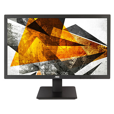 "AOC 27"" LED - E2775SJ 1920 x 1080 pixels  - 1 ms - Format large 16/9 - HDMI - Display Port - Haut-parleurs - Noir"
