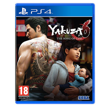 Yakuza 6 : The Song of Life - Essence of Art Edition (PS4)