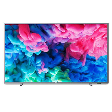 "Philips 55PUS6523 Téléviseur LED 4K 55"" (140 cm) 16/9 - 3840 x 2160 pixels - Ultra HD 2160p - HDR - Wi-Fi - Bluetooth - DLNA - 900 Hz"
