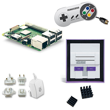 Raspberry Pi 3+ Retrogaming Kit (Super NES)
