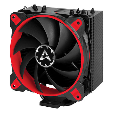 Arctic Freezer 33 eSports ONE - Rouge Ventilateur processeur (pour socket Intel 1150/1151/1155/1156/2011-v3/2066 et AMD AM4)