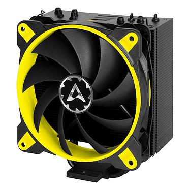 Arctic Freezer 33 eSports ONE - Jaune Ventilateur processeur (pour socket Intel 1150/1151/1155/1156/2011-v3/2066 et AMD AM4)
